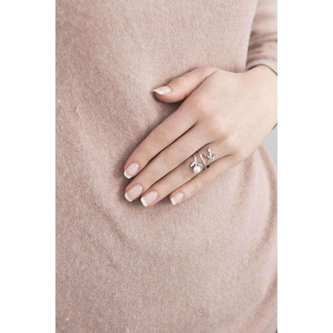 Morellato anelli Gioia donna SAER26014 indosso
