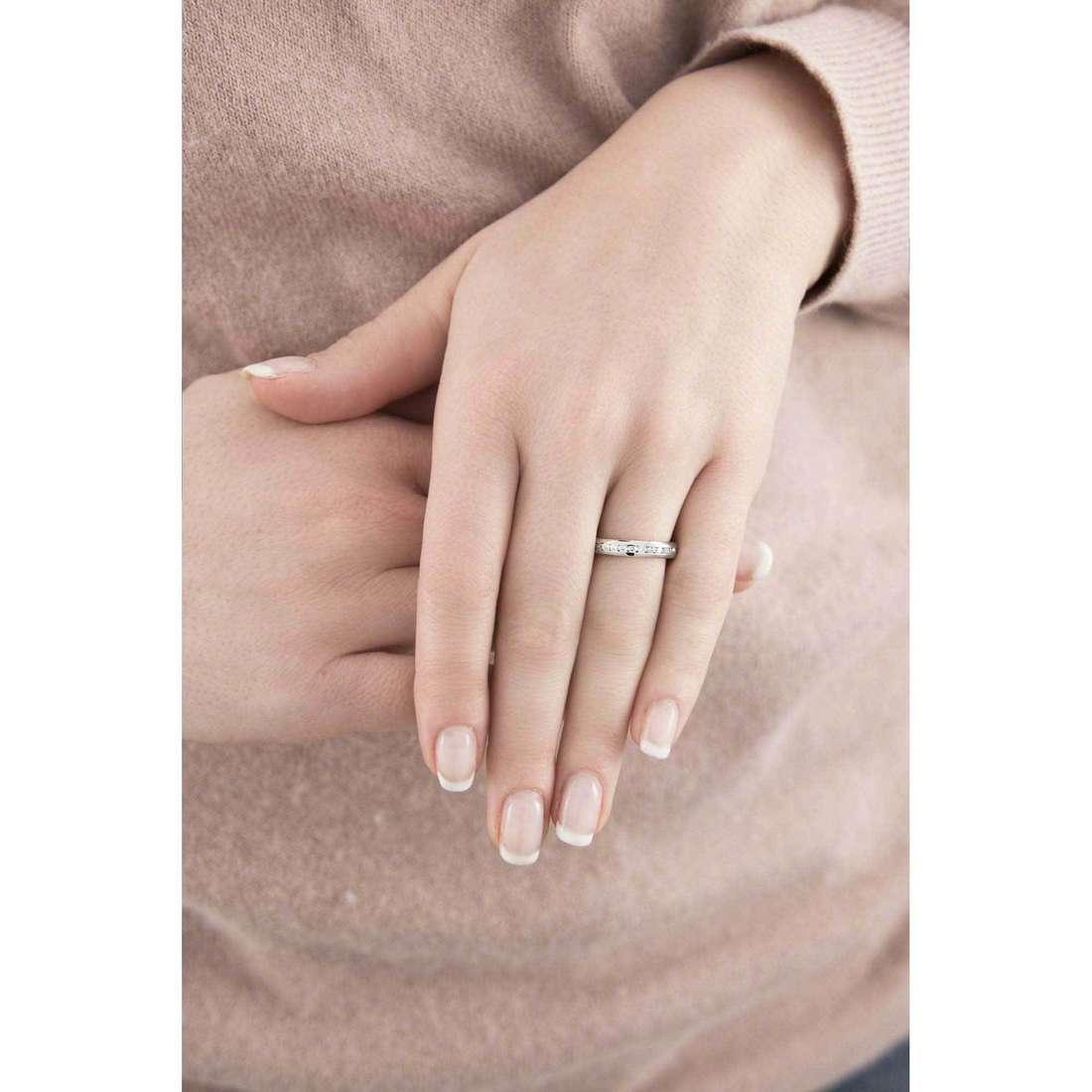 Morellato anelli Love Rings donna SNA26012 indosso