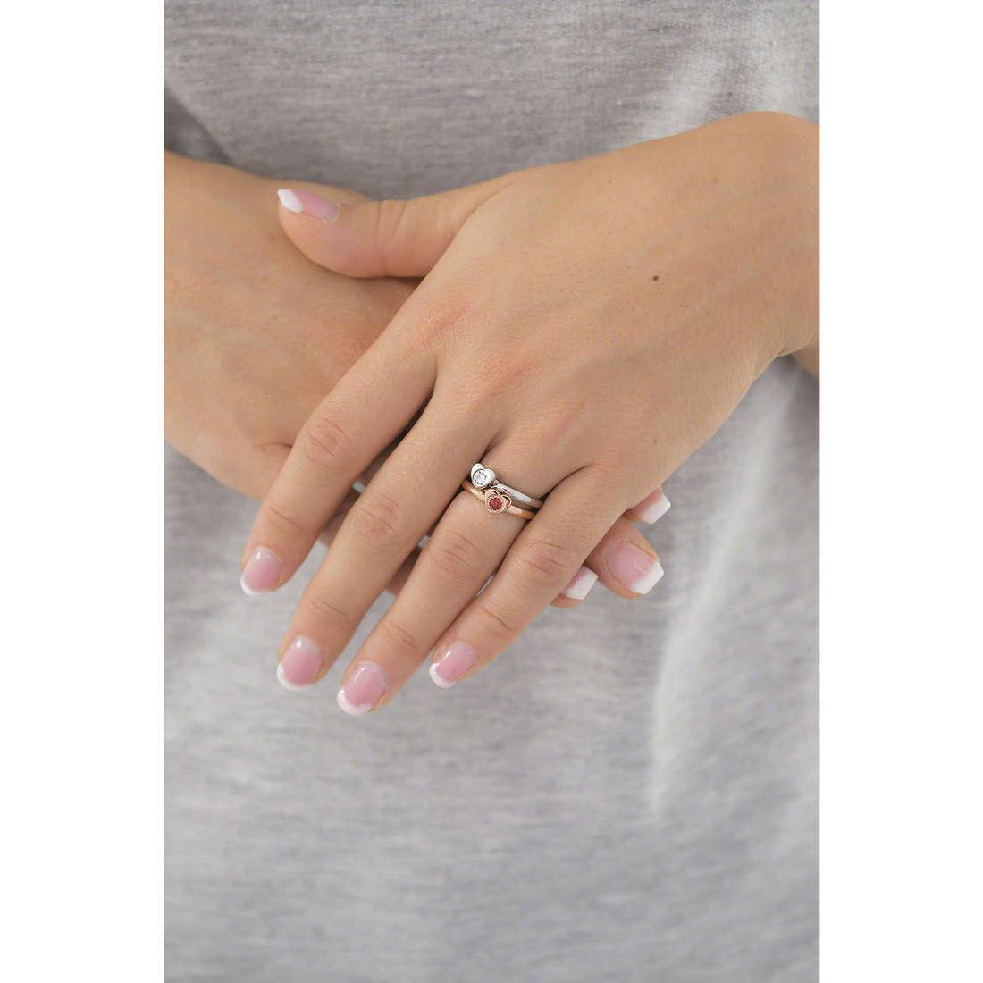 Morellato anelli Love Rings donna SNA32018 indosso