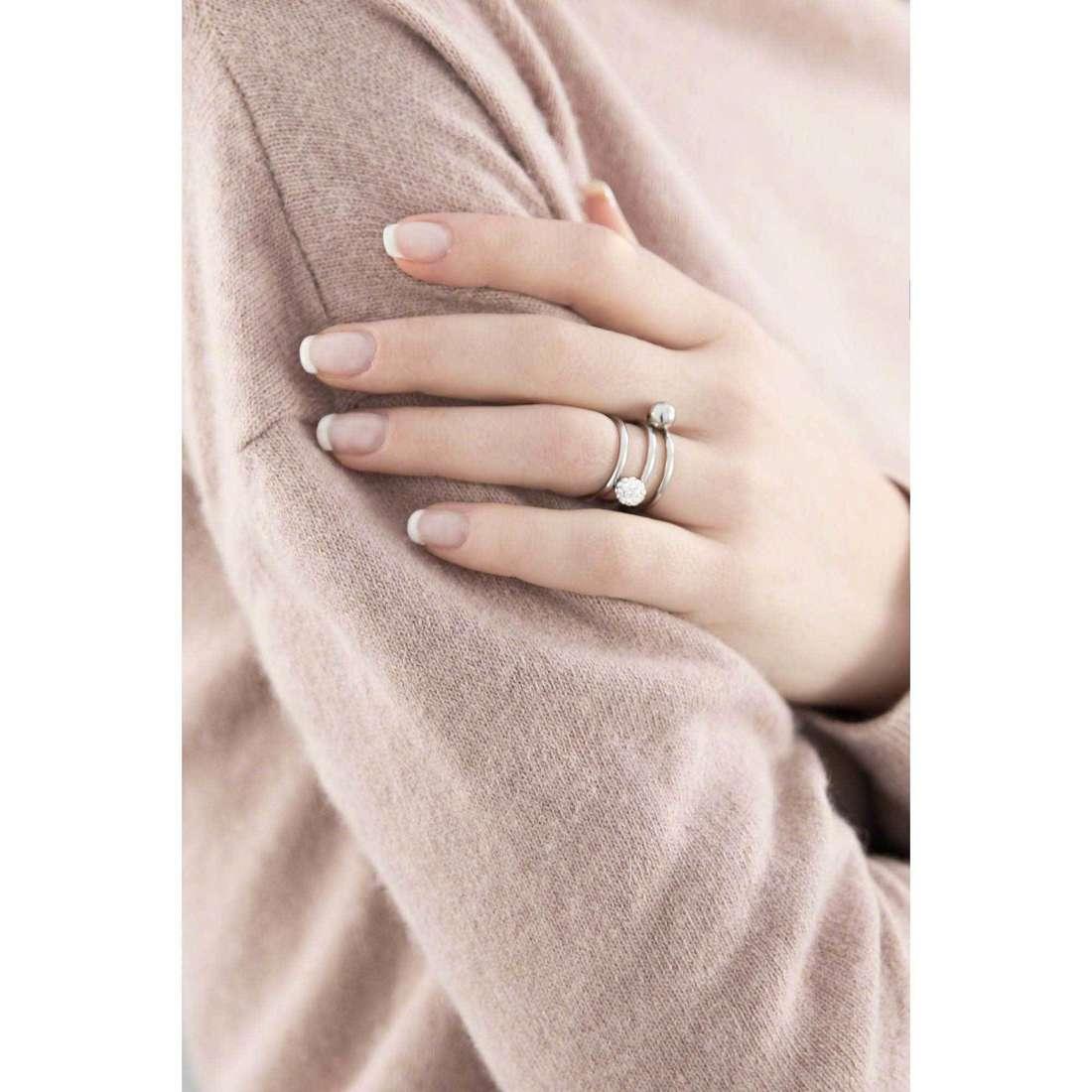 Morellato anelli Luminosa donna SAET09014 indosso