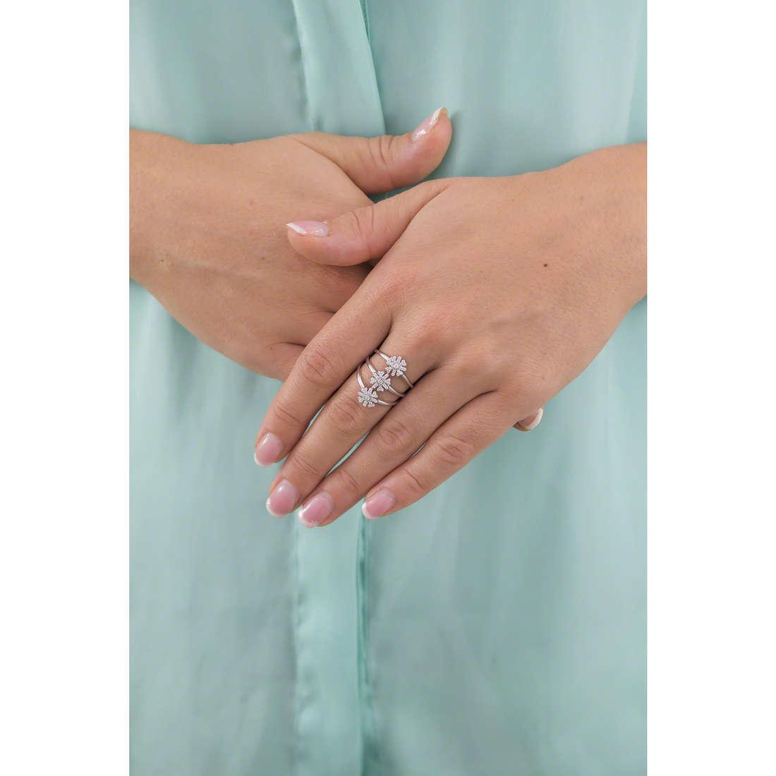 Morellato anelli Pura donna SAHK12 indosso