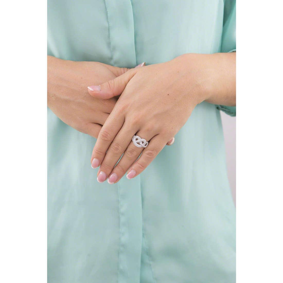 Morellato anelli Nododamore donna SAHN05014 indosso