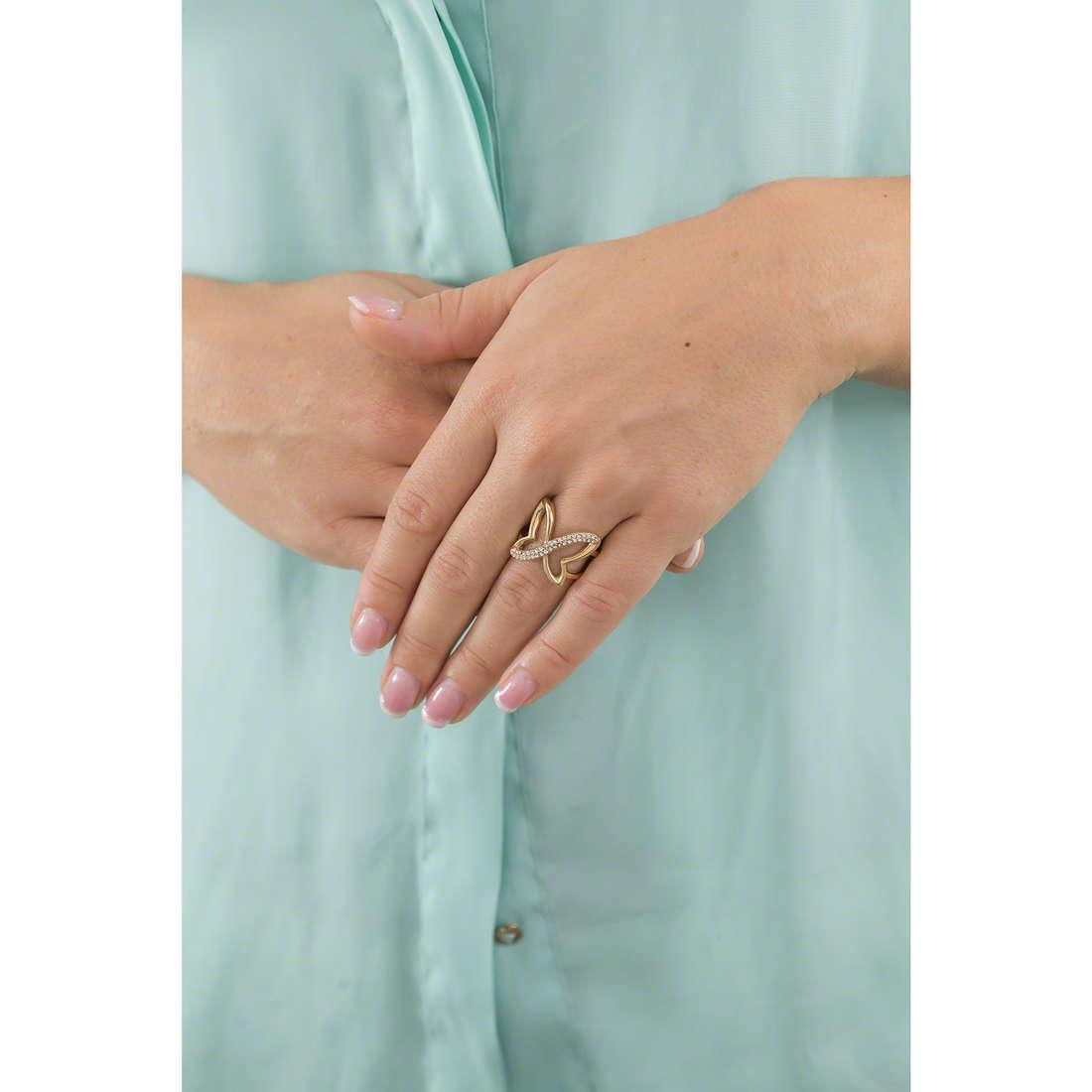Morellato anelli donna SAHO16014 indosso