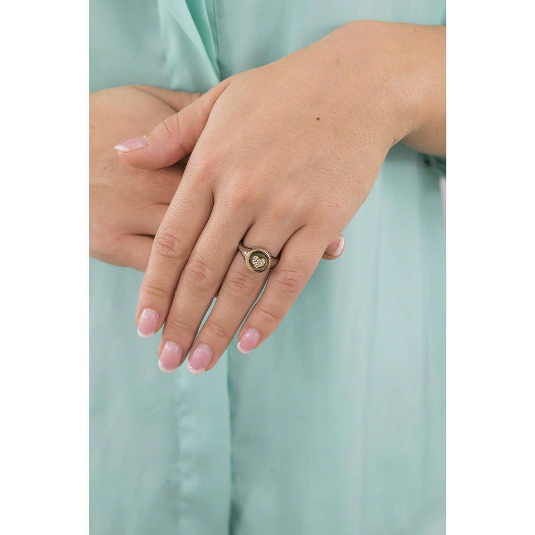 Morellato anelli donna SAHQ09014 indosso