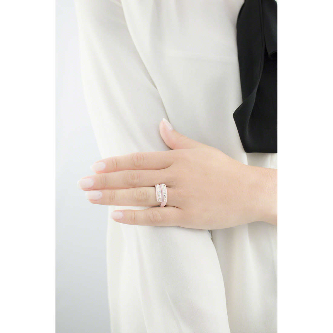 Ops Objects anelli Diamond donna OPSAN-333 indosso