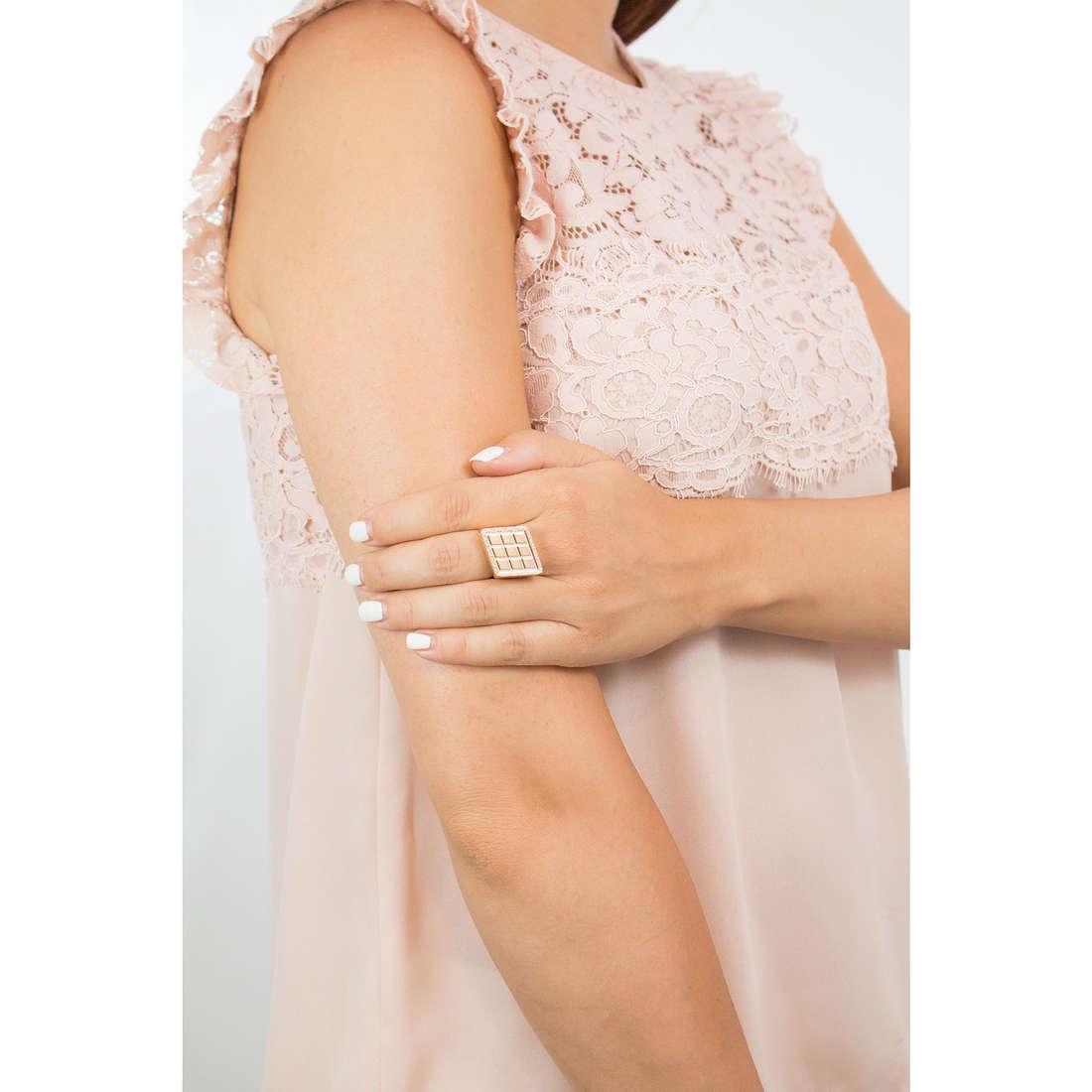 Rebecca anelli Melrose donna B10AOO02 indosso