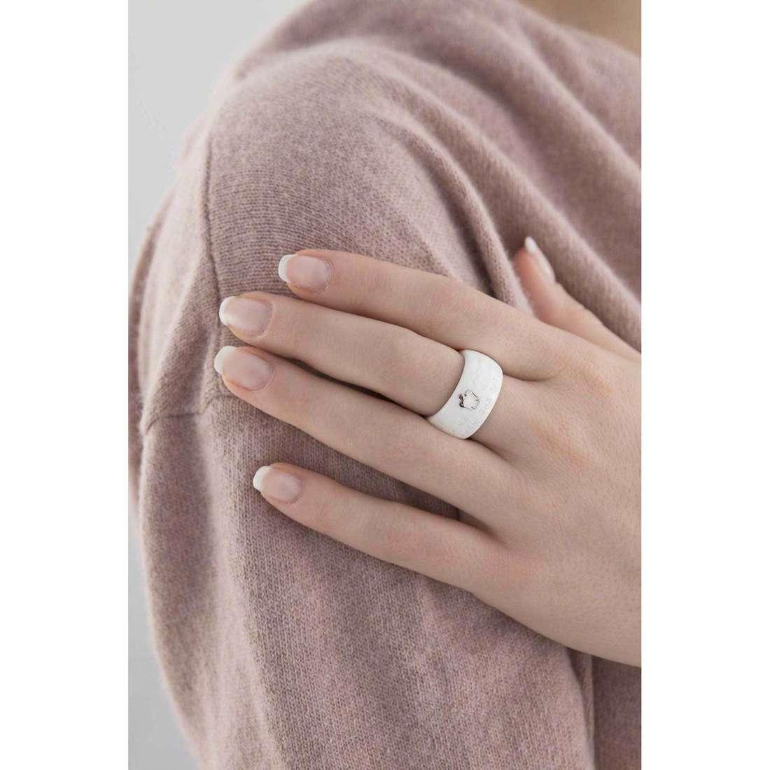 Giannotti anelli Chiama Angeli donna REB-14 indosso