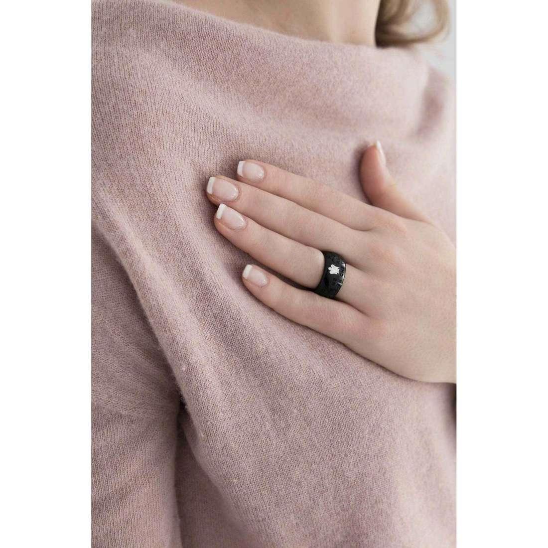 Giannotti anelli Chiama Angeli donna REN-12 indosso