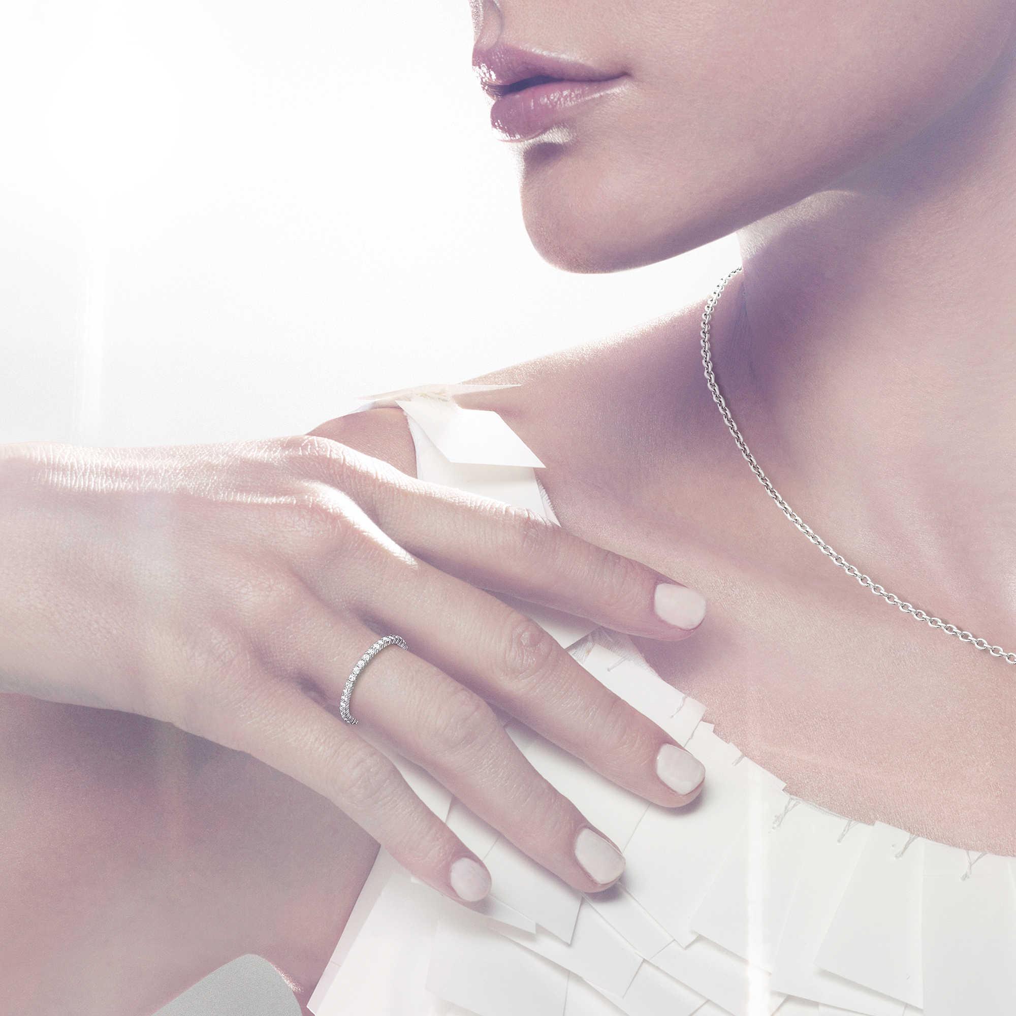 prezzo minimo cerca l'originale Vendita scontata 2019 anello donna gioielli Swarovski Vittore 5007779