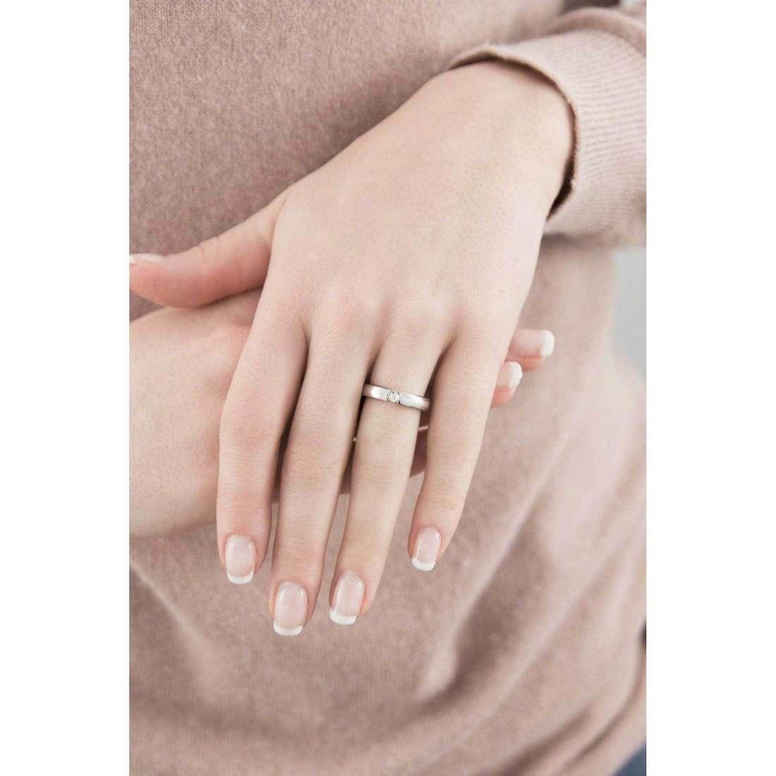 Morellato anelli Cult donna S8532012 indosso