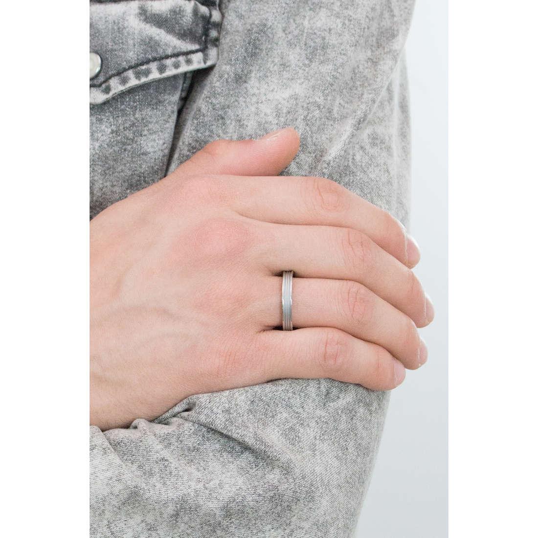 anello uomo gioielli Brosway Stoneage misura 19 casual cod BOG32A