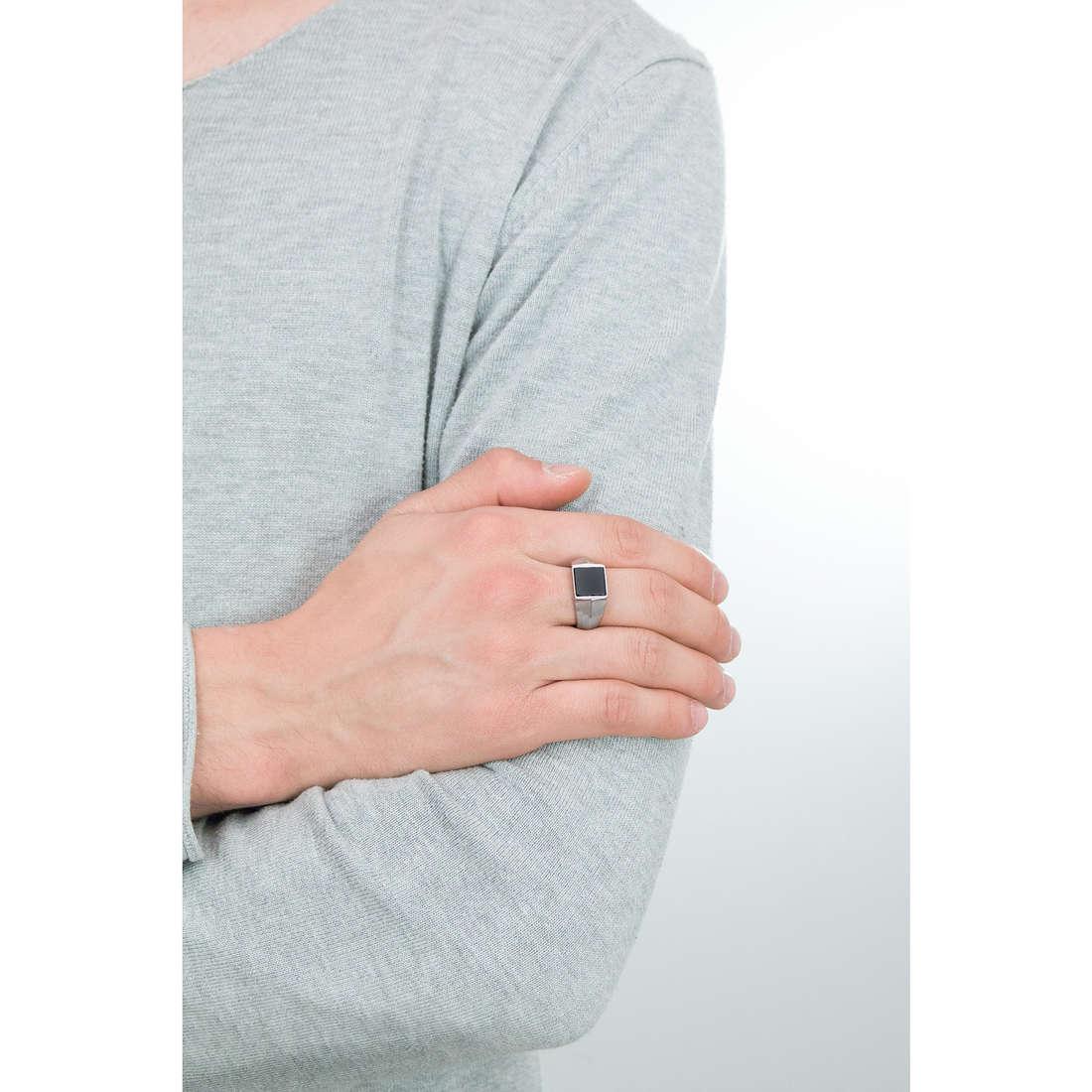 Morellato anelli uomo SAGH14025 indosso