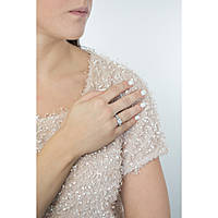bague femme bijoux Guess Love Chain UBR84035-54