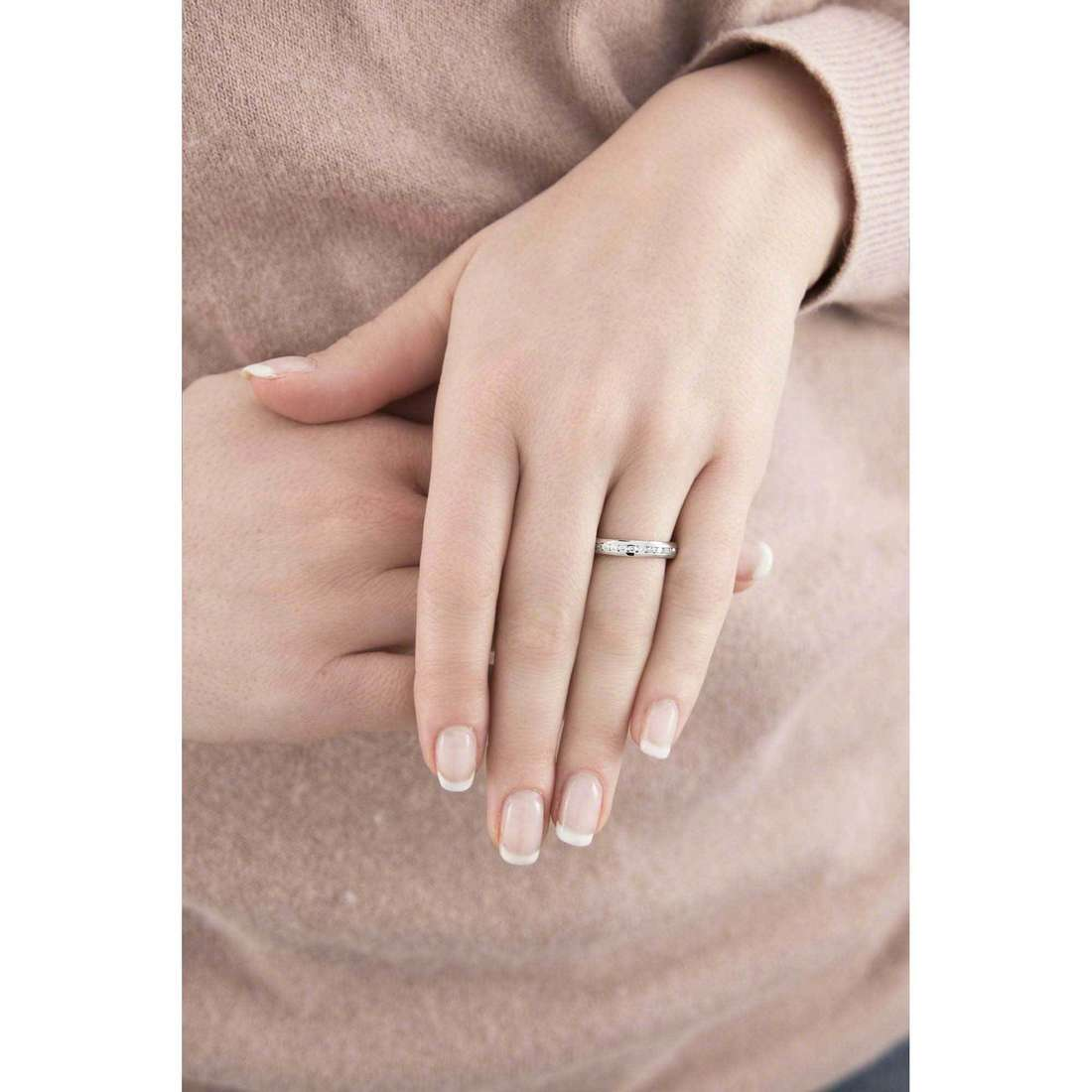 Morellato bagues Love Rings femme SNA26012 indosso
