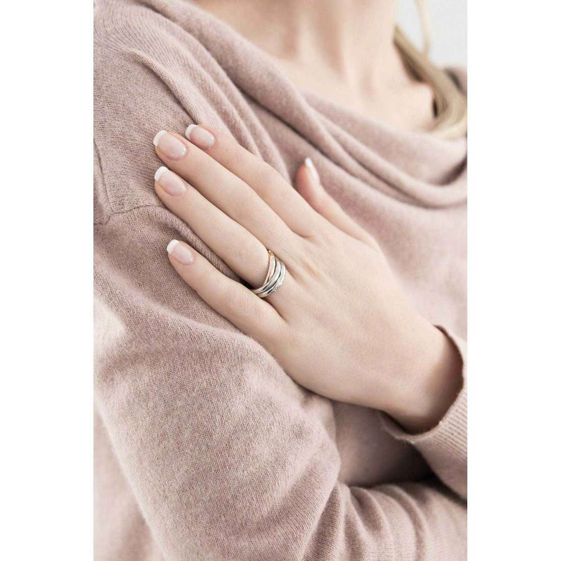 Morellato bagues Love Rings femme SNA31014 indosso