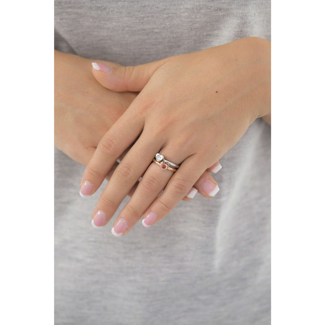 Morellato bagues Love Rings femme SNA32018 indosso