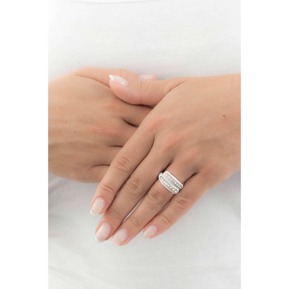 Ops Objects bagues Diamond femme OPSAN-332 indosso