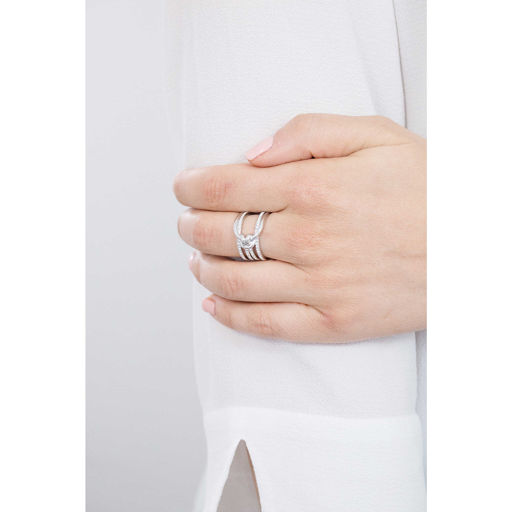 bague femme bijoux Swarovski Lifelong 5402449 bagues Swarovski 7dc922cfce8c