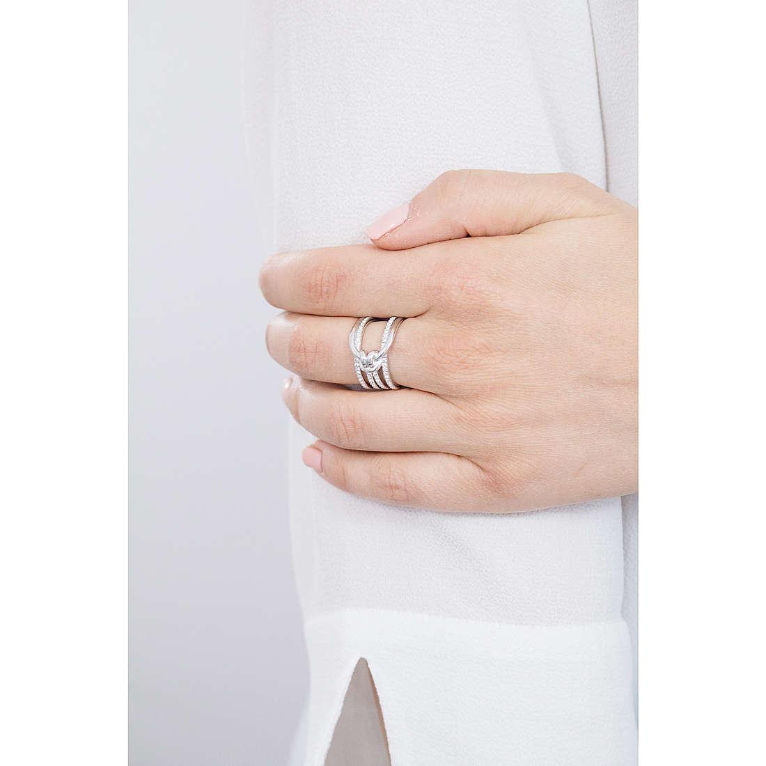bague femme bijoux Swarovski Lifelong 5412075