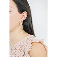 boucles d'oreille femme bijoux 4US Cesare Paciotti Ring Game 4UOR1810W