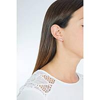 boucles d'oreille femme bijoux Amen Croce Del Sud ECDS