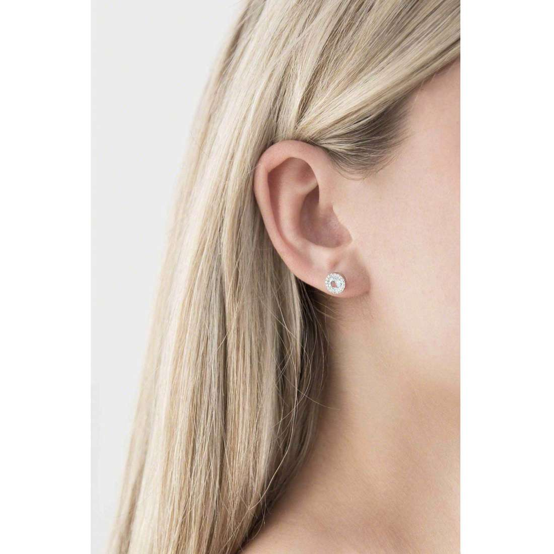 Bliss boucles d'oreille Enjoy femme 20061240 indosso