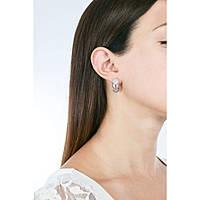 boucles d'oreille femme bijoux Breil Amazzone TJ2161