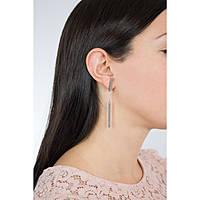 boucles d'oreille femme bijoux Breil Bangs TJ2218