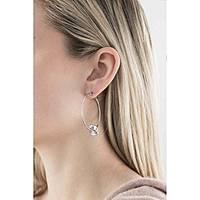 boucles d'oreille femme bijoux Breil Beat Flavor TJ1495