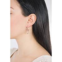 boucles d'oreille femme bijoux Breil Cobra TJ2275