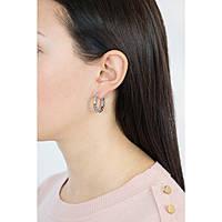 boucles d'oreille femme bijoux Breil Rolling Diamonts TJ1568