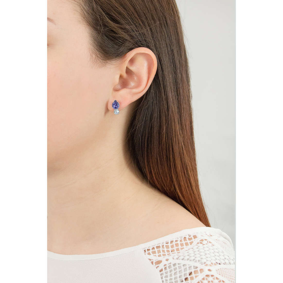 Brosway boucles d'oreille Affinity femme BFF27 photo wearing