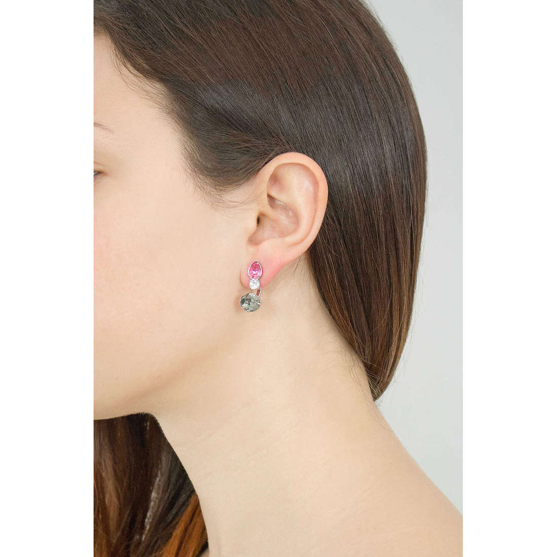 Brosway boucles d'oreille Affinity femme BFF29 indosso