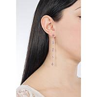 boucles d'oreille femme bijoux Brosway Affinity BFF62