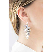 boucles d'oreille femme bijoux Brosway Charmant BCM21