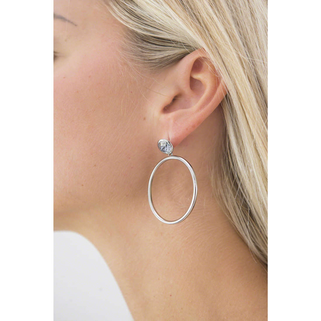 Brosway boucles d'oreille E-Tring femme BRT29 photo wearing