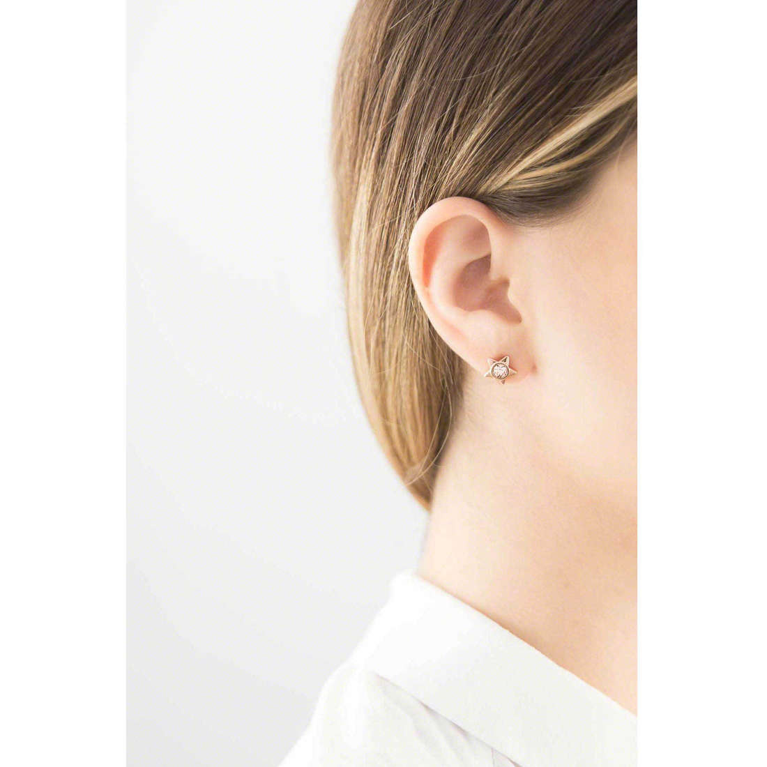 Brosway boucles d'oreille Epsilon femme BEO26 photo wearing