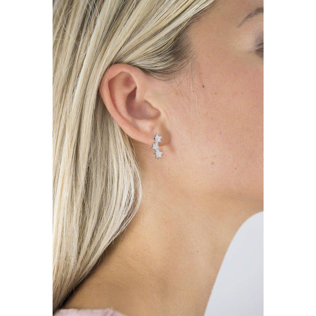 Brosway boucles d'oreille Etoile femme G9ET21 indosso