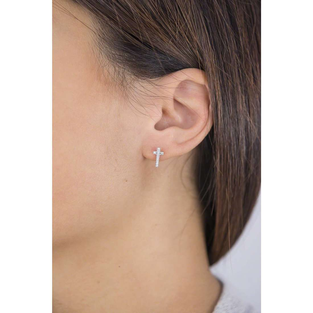 Brosway boucles d'oreille Icons femme G9IS22 indosso