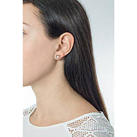 boucles d'oreille femme bijoux Brosway Ikebana BKE22