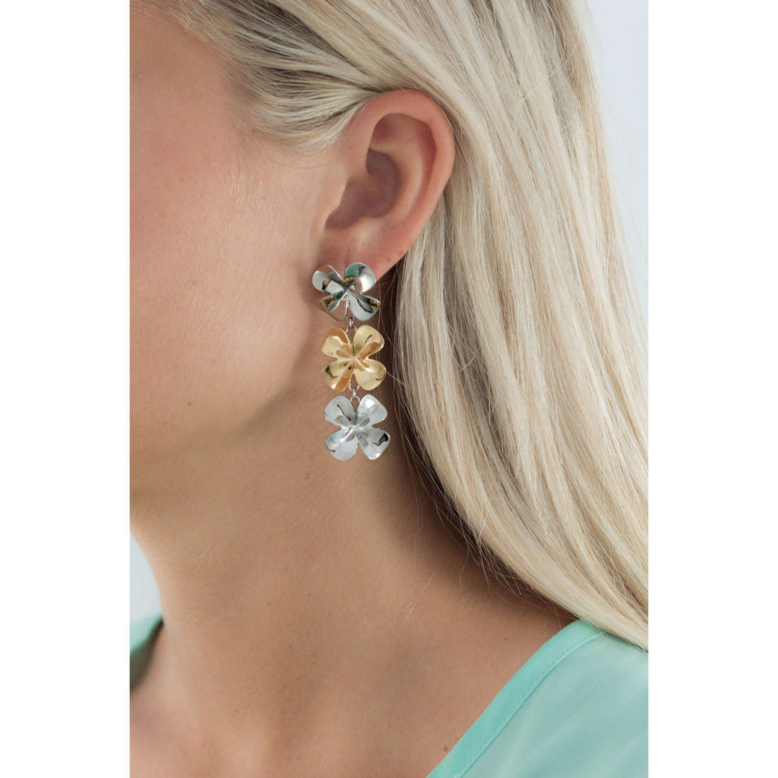 Brosway boucles d'oreille Jasmine femme BJN22 indosso