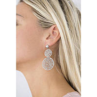 boucles d'oreille femme bijoux Brosway Mademoiselle BIS22