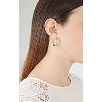 boucles d'oreille femme bijoux Brosway Mini Ribbon BBN23