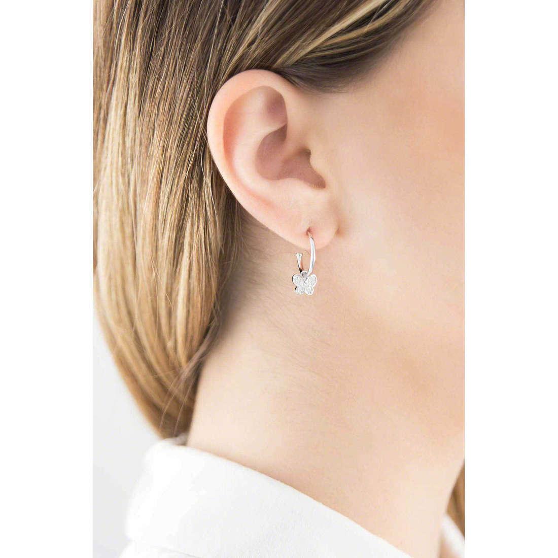 Brosway boucles d'oreille Paradise femme G9PD21 indosso