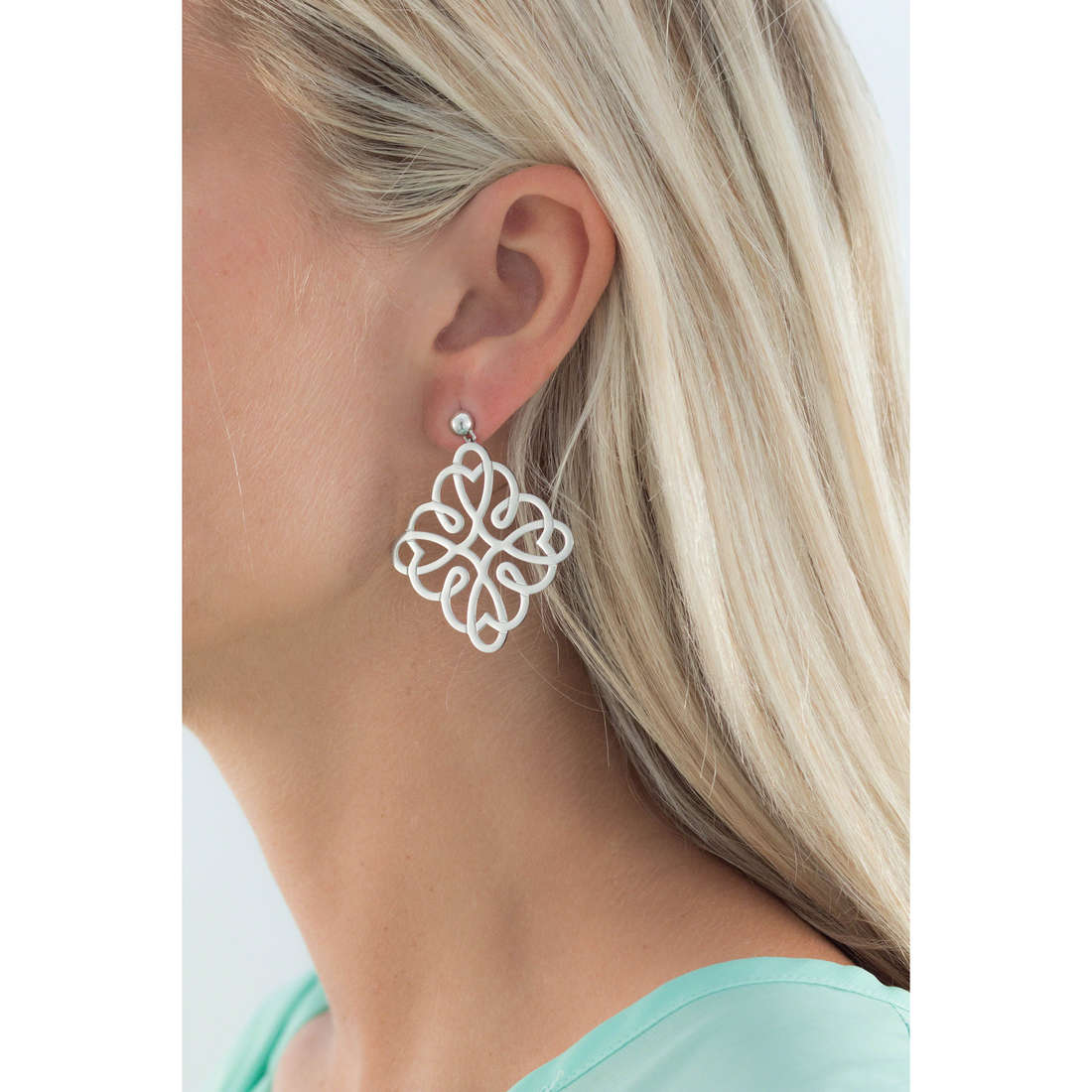 Brosway boucles d'oreille Persia femme BRS21 indosso