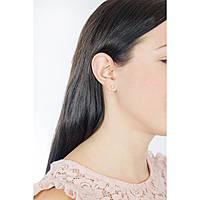 boucles d'oreille femme bijoux Brosway Plume BUM21