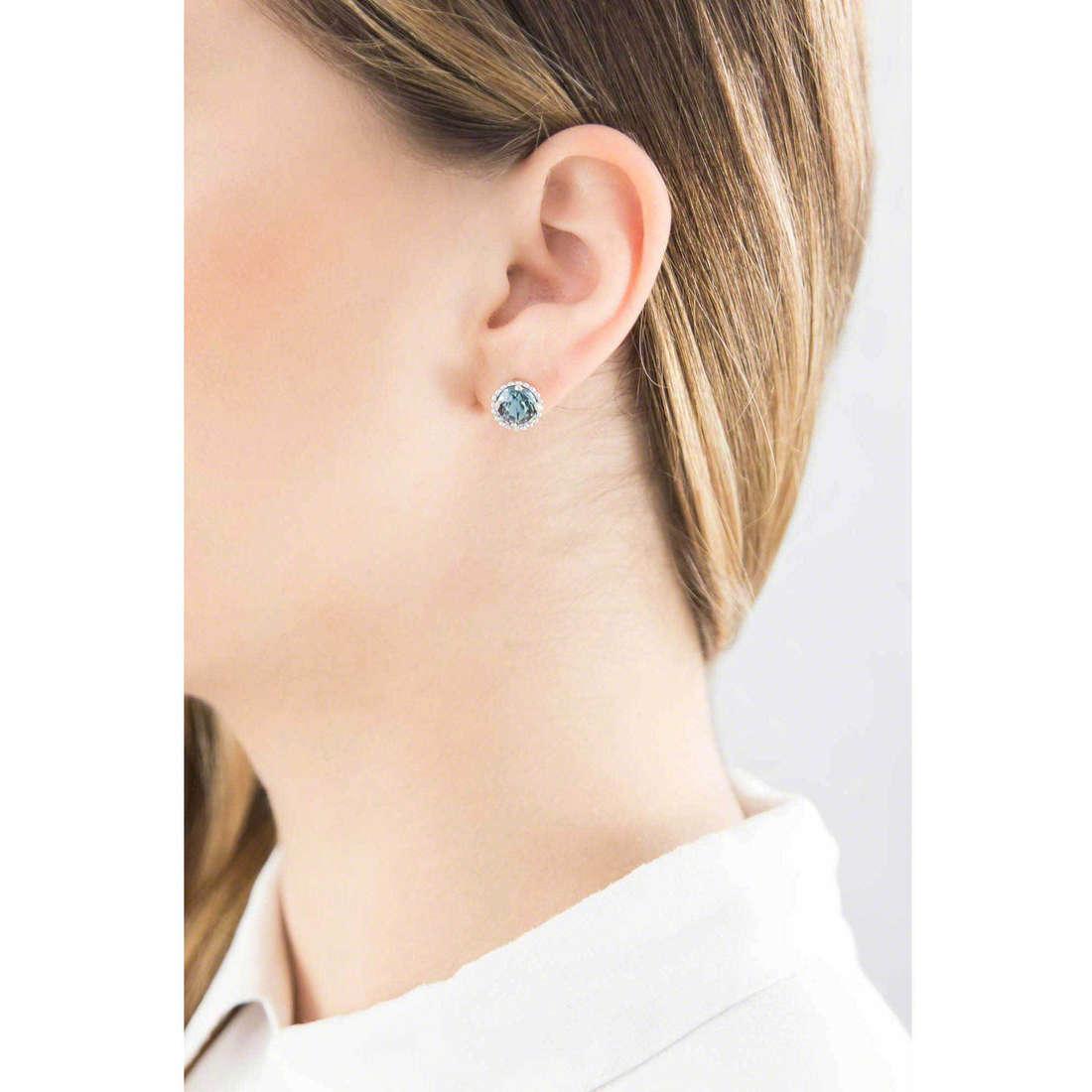 Brosway boucles d'oreille Princess femme G9PN24 indosso
