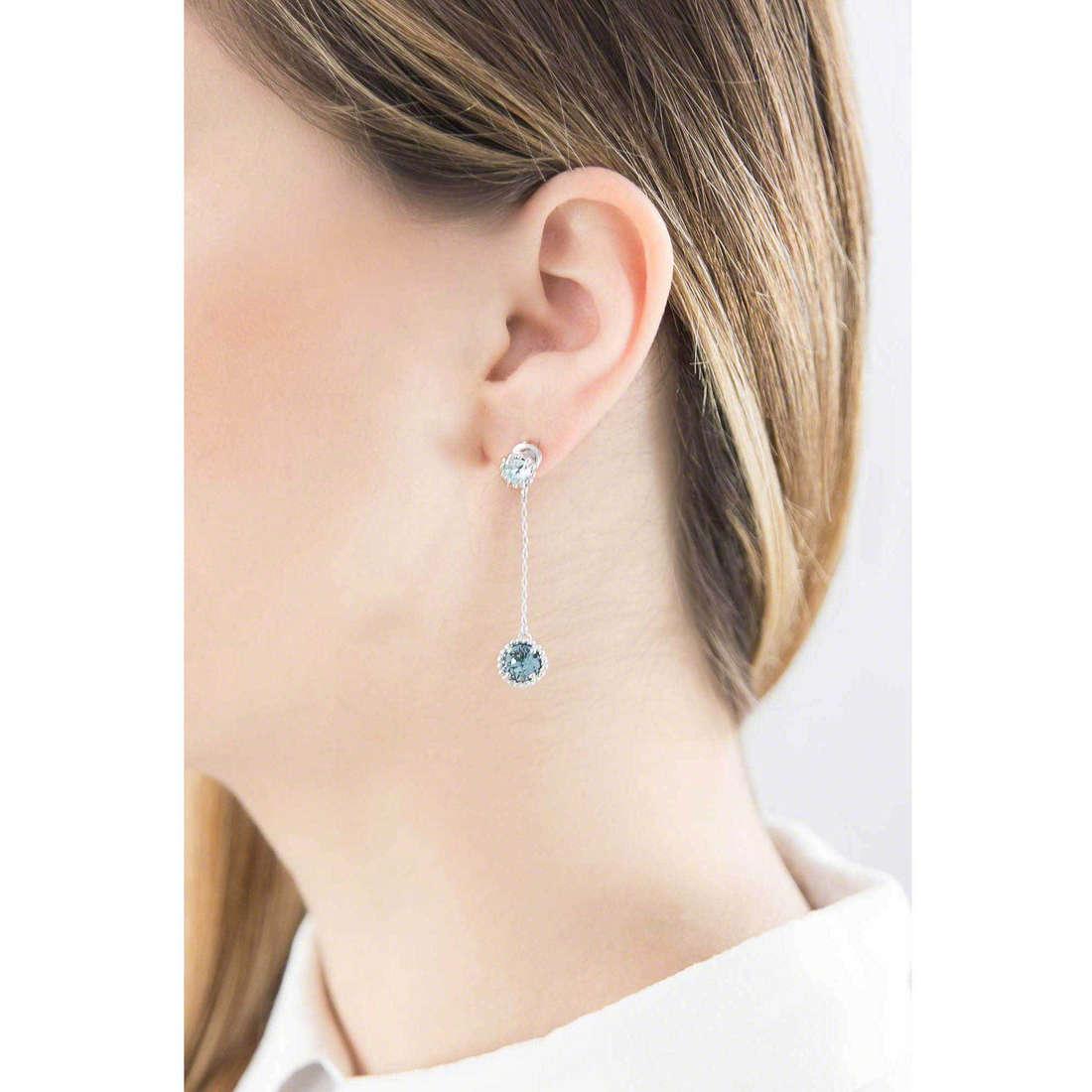 Brosway boucles d'oreille Princess femme G9PN31 indosso