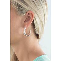 boucles d'oreille femme bijoux Brosway Ribbon BBN21