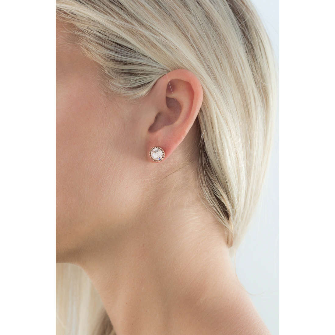 Brosway boucles d'oreille Riflessi femme BRF22 indosso